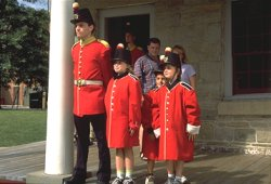 A day in the life of a 19th Century Soldier - Fredericton - Photo Credit: Tourism New Brunswick